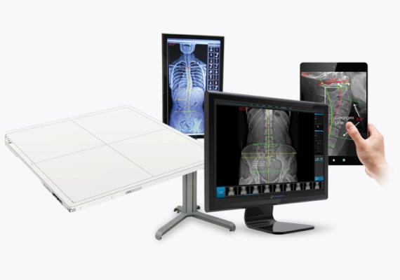 ChiroSight Xray hardware and software